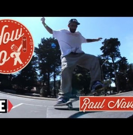 RIDE CHANNEL - HOW TO: FAKIE FIVE-0 GRINDS WITH RAUL NAVARRO