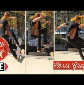 RIDE CHANNEL - HOW TO: FRONTSIDE BLUNTSLIDE TO DISASTER WITH CHRIS GREGSON