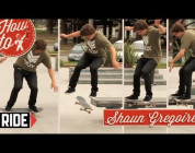 RIDE CHANNEL - HOW TO: FRONTSIDE TAILSLIDE BIGSPIN WITH SHAUN GREGOIRE