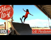 RIDE CHANNEL - HOW-TO SKATEBOARDING: FRONT BLUNT WITH AL PARTANEN