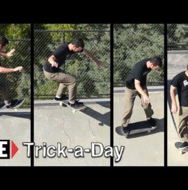RIDE CHANNEL - TRICK A DAY - FRONTSIDE 5-0 REVERT - JACK GIVEN