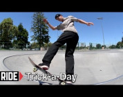 RIDE CHANNEL - TRICK A DAY - PIVOT FAKIE - BEN RAEMERS