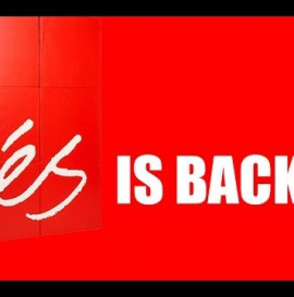 éS FOOTWEAR IS BACK!