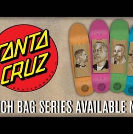 Santa Cruz Skateboards: Lunch Bag Art Series