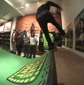 Shake Junt x Flat Spot best trick in the shop