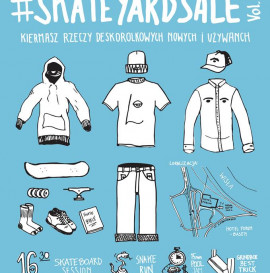 Skate Yard Sale Vol. 1 @ Pool Forum