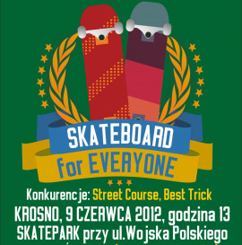Skateboard For Everyone w Krośnie