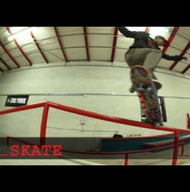 Skateboard Trick Tips With Chaz Ortiz: Crooked Grinds