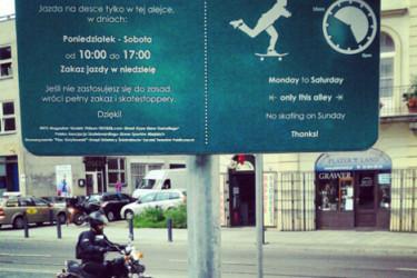 Skateboarding a przestrzeń społeczna.