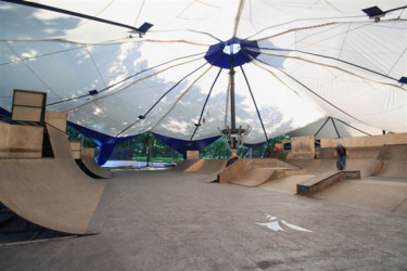 Skatepark Jutrzenka to ruina.