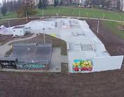 Skatepark Mistrzejowice Kraków - rozbudowa.