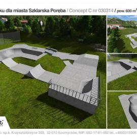 Skatepark Szklarska Poręba.