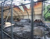 Skatepark w Bydgoszczy spłonął.