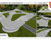 Skatepark w Głogówku.