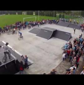 Skatepark w Kętach już otwarty