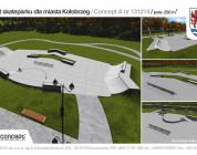 Skatepark w Kołobrzegu.