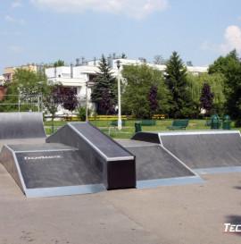 Skatepark w Krakowie na osiedlu Widok