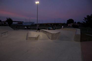 Skatepark w Legnicy - opis miejsca.