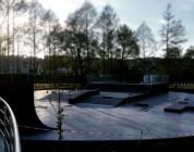 Skatepark w Piszu.