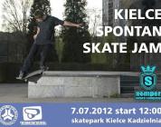 SPONTAN SKATE JAM w Kielcach