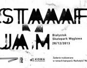 """""""Staff Jam"""" Skatepark Węglowa Białystok"""