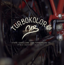 Steve Caballero for Turbokolor Co. Limited edition line.