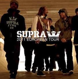 SUPRA 2011 EUROPEAN TOUR VIDEO