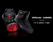 "SUPRA AND G-SHOCK PRESENT ""IT'S ABOUT TIME"""