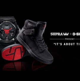 """SUPRA AND G-SHOCK PRESENT """"IT'S ABOUT TIME"""""""