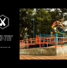 SUPRA TWO FOR TUESDAY: Neen Williams and Bjorn Johnston in Hong Kong