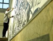 Swanski paints Kamuflage Skatepark in Warsaw
