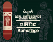 Swanski x Girl Skateboards x Guy Mariano