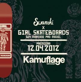 Swanski x Girl Skateboards x Guy Mariano