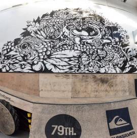 Swanski x Kamuflage skatepark