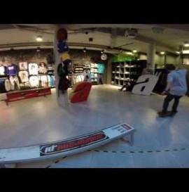 Team Andegrand.pl and miniSkatepark in store & Vans