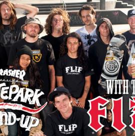 Team Flip w skateparku Thrasher - video