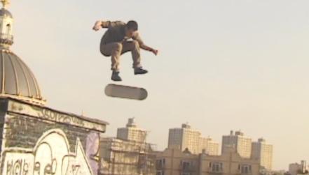 Tengu: God of Mischief, NYC Roof Skating