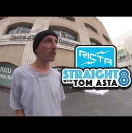 Tom Asta Straight 8 Flatground Trick Challenge