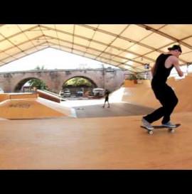 Tomas Vintr - 10+1 flip-in tricks - Mystic Skatepark