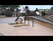 Tommy Sandoval skates Memorial park