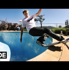 Tony Hawk and Lance Mountain Backyard Pool Session