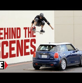 Tony Hawk Jumps Moving MINI Hardtop - Behind The Scenes