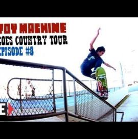 Toy Machine Tour with Leo Romero, Josh Harmony, Dan Lu, Collin Provos