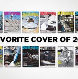 Transworld Skateboarding - najlepsza okładka 2011