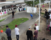 "Turbokolor Co. ""Pump That Track"" Skateboard Jam, Warszawa"