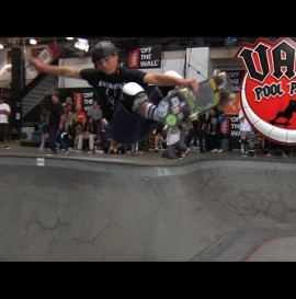 Vans Pool Party 2015: Chris Russell Qualifies First