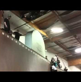Vert Monsters of the Abyss session at the D.C ramp