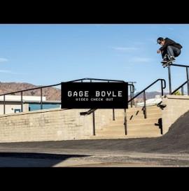 Video Check Out: Gage Boyle   TransWorld SKATEboarding