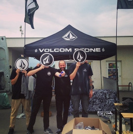 Volcom Wild in The Parks -wyniki.