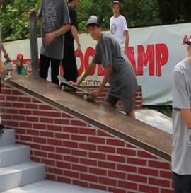 Welcome to Woodcamp Skateboardcamp 2013